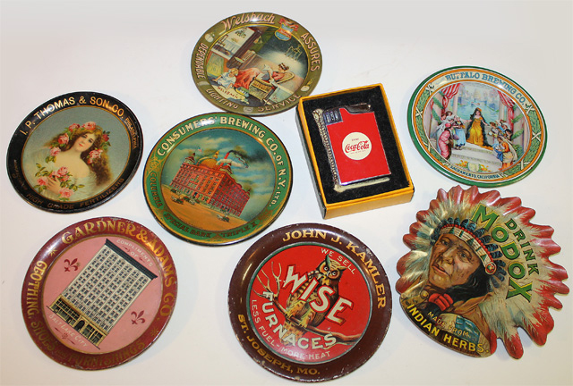 Tip Trays, Coca-Cola collectibles
